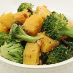 Butternut Squash and Broccoli Salad
