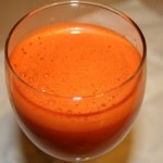 Carrot Juice with Fennel and Celery