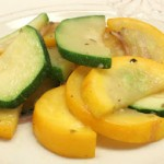 Green and Gold Zucchini