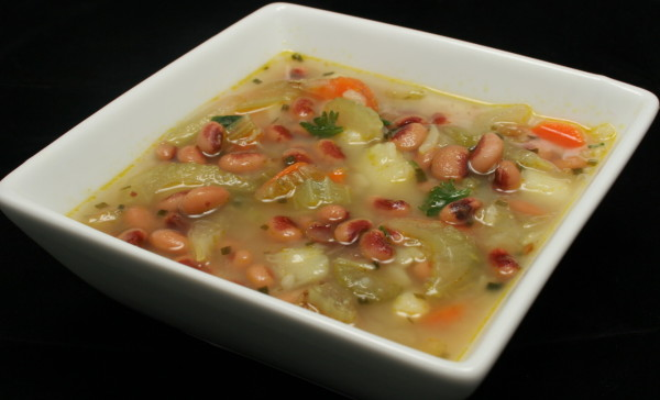 Black-eyed Peas and Potato Soup