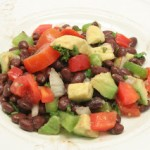 Mediterranean Black Bean Salad