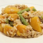Baked Rice w/ Butternut Squash