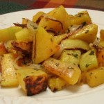 Roasted Butternut Squash w/ Onions