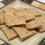 Sesame Seed Rice Crackers