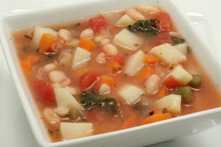 white bean, kale, and vegetable soup