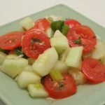 Tomato, Fennel, and Cucumber Salad