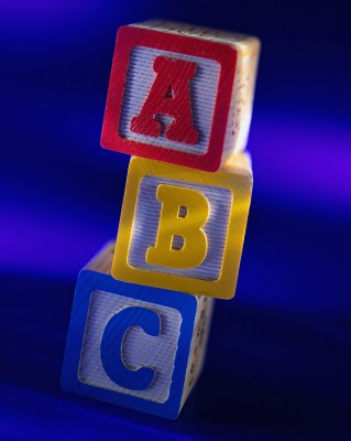 Alphabet Blocks, ABCs, ABC blocks