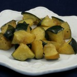 Roasted Acorn Squash with Sage