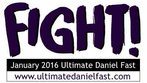 January 2016 Ultimate Daniel Fast logo