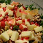 Apple, Pomegranate, and Kale Salad