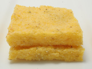 broiled polenta squares