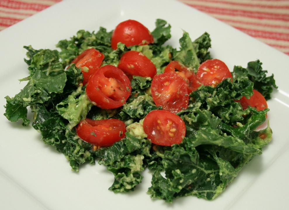 Image Result For Massaged Kale Salad Avocado